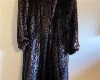 Full length Beaver Coat BUY IT NOW $200