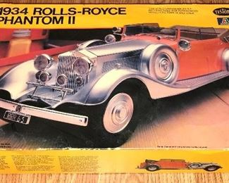 1934 ROLLS ROYCE PHANTOM MODEL KIT