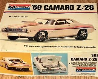 1969 CAMARO MONOGRAM NODEL KIT