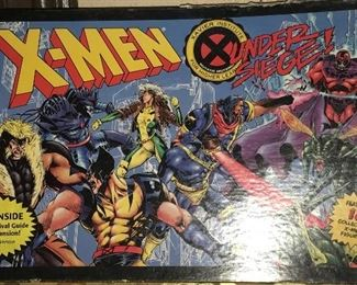 X-MEN GAME, UNDER SIEGE