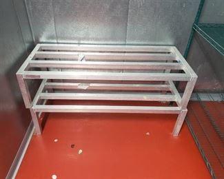 (2) dunnage racks