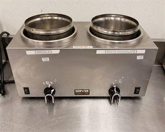 Server Twin FS food warmer