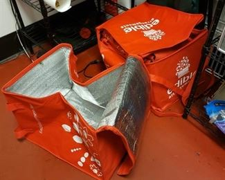 (7) insulated delivery bags