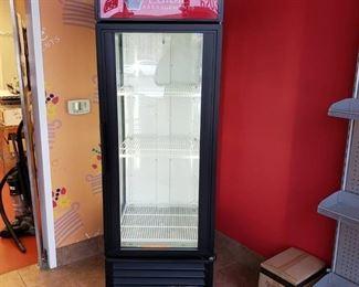 True GEM-23 glass door cooler