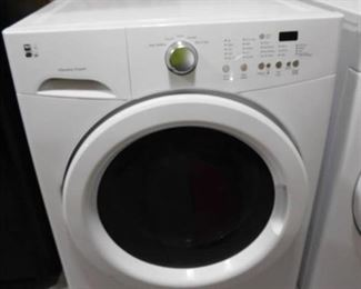 Kenmore front load washer- model# 417.41122410 35in H X 27in W X 28in D