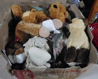 Box full of teddy bears- great gift idea for young ones!