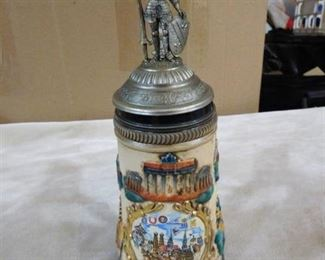 Handgemalt hand painted Limited edition beer stein 4728 out of 5000 made in Germany
