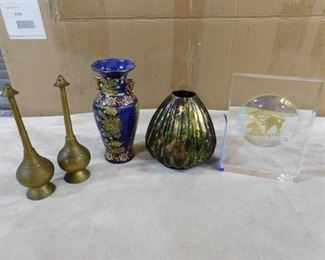 lot of 5 assorted home decor