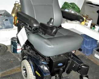Brand new electric chair.  Never used