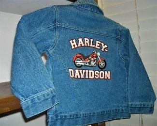 Child's Harley Davidson jacket