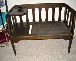 Antique conversation bench