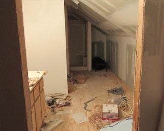 Unfinished Bathroom Upstairs