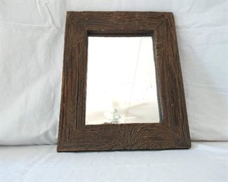 Wooden Barn Wood Like Mirror