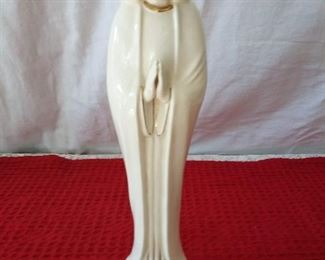 Porcelain Praying Madonna Statue