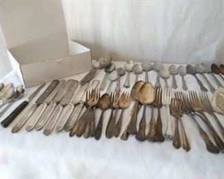 Misc Silverware Lot
