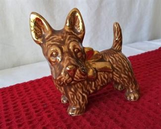 Vintage Ceramic Scotty Dog