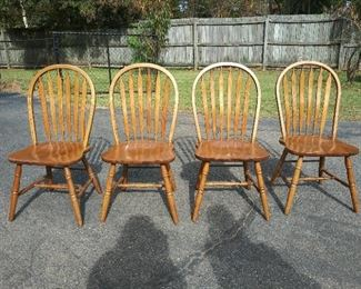 4 Arrowback Chairs