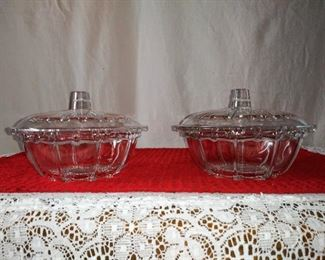 Pair Candy Dishes
