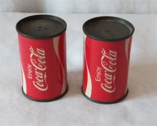 Coca-Cola Salt & Pepper Shakers