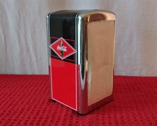 Coca-Cola Metal Napkin Holder