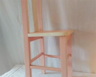 Large Wooden Doll Chair
