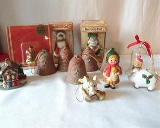 Heirloom Doll Christmas Ornament Lot