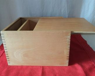Dove Tailed Box w/ Sliding Lid