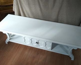 Painted Coffee Table w/ storage area