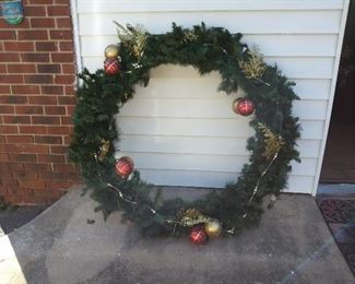 Extra Large Wreath- 4 ft diameter