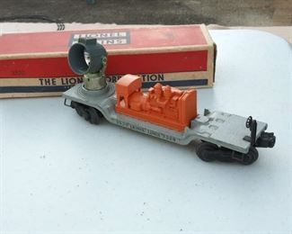Lionel Train #3520 Gray & Orange
