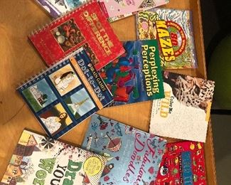 $35 all / Huge lot of creative books and puzzle books! Great for the young and old!