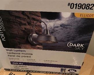 $16 / Brand new galvanized wall lantern