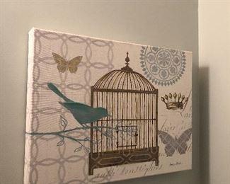 $36 / Bird Canvas (medium sized)