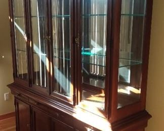 Beautiful Stanley furniture china hutch