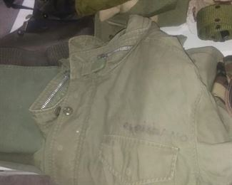 Vintage army field jacket
