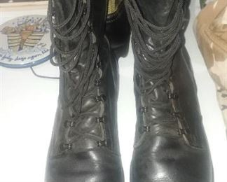 Jump boots full leather