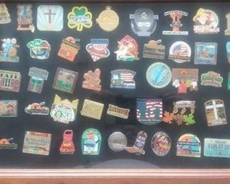 Silver Dollar City collector's pins