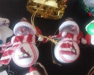 St Louis Cardinals ornaments