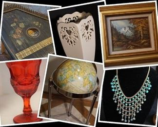 Heath Online Auction Collage