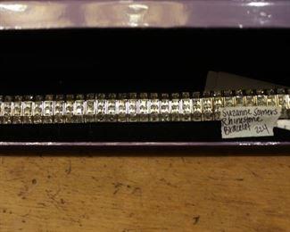 Suzanne Somers Rhinestone bracelet