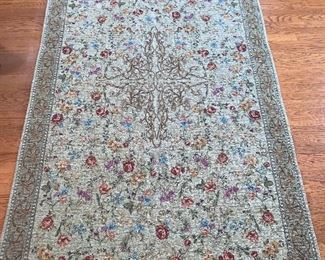 """Capel """"Festival of Flowers"""" 5'x8' Area Rug"""
