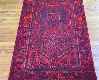 """Approx. 6'4""""x3'5"""" Hand Woven Area Rug"""