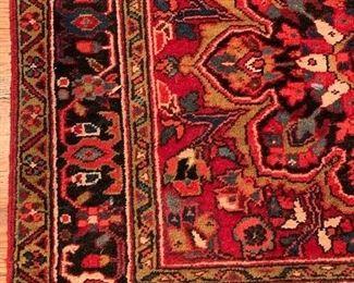 "11'2""x3'10"" Hand Woven Persian Area Rug, Ahar, Iran."