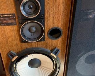 Pioneer Speakers, Pair