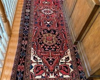 "10'10""x3'10"" Hand Woven Persian Area Rug, Ahar, Iran."
