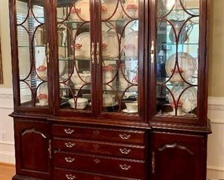 Thomasville Illuminated China Cabinet