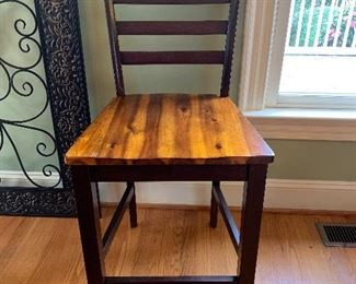 Abaco Solid Acacia Hardwood Counter Height Chairs by Steve Silver Co.
