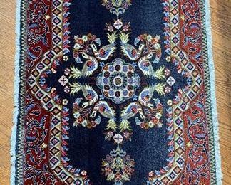"2'x3'5"" Hand Woven Persian Area Rug, Kashan, Iran (1 of 2)"