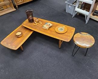 Mid-Century Tables & Decor