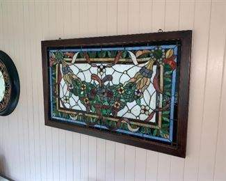 Gorgeous stained glass $300